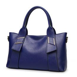 Wholesale wax dress for women - Women geniune high Leather Handbags Ladies Party Shoulder Bags female tote bag oil wax messenger bag clutch bag for girl