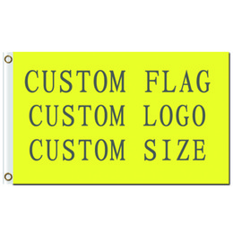 Wholesale Fly Flags - Wholesale Digital Printing Customized Flag Banner Flying Design 3x5 ft 100D Polyester Banners with Two Metal Grommets