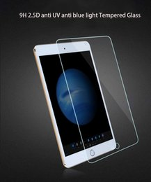 Anti luz azul 2.5D vidrio templado 9H 0.26MM Protector de pantalla para iPad Pro 2 3 Air / 2 Mini / 2/3 desde fabricantes