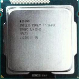 Processore intel 1155 online-Processore Intel Core i7 2600K I7 2600K 8M 3.4G 95 W Quad Core 5GT / s SR00C LGA 1155 SOCKET i7-2600K