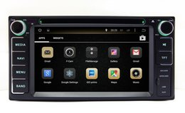 Wholesale Dash Din Android - Android 7.1 Car DVD Player GPS Navigation for Toyota Fortuner Land Cruiser Innova Tundra Kluger Hiace Vios with Radio BT USB WIFI