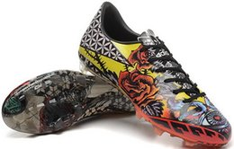 Wholesale Cheapest Tattoo - The top F50 tattoo love and hate Popular FG Sneakers Soccer Training Shoes,2015 man Outdoor CR7 Sneakers Running Shoes,cheap Football Boots