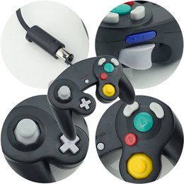 Wholesale Shock Spot - 2016 classic wired game handle, Nintendo Gamecube game handle, Wii vibration game handle, a variety of colors, a new spot can be wholesale