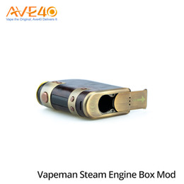 Wholesale Used Engines - Vapeman Steam Engine Mod 75w TC Box Mod with DNA Chip Used Dual 18650 Cells Original