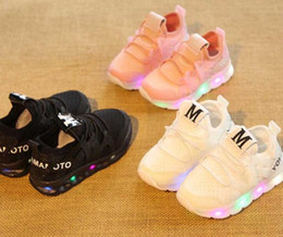 1f74ad9a84b4d Discount popular girls shoes - New style Children Shoes With LED Light  Popular in Europe Boys