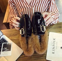 Wholesale Free Mules - Free Shipping 2017 autumn fashion embroidery flat mule shoes Korean version of the comfortable wild lazy single shoes female fashion dress s