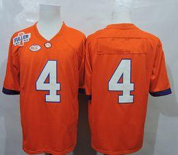 Wholesale American Football Jerseys Wholesale - 2016 College Football Jerseys #4 Jersey Orange Color Size S-XXXL Stitched Hot American Football Jerseys