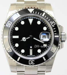 Wholesale Dive Watch Blue - luxury brand automatic watch men's mechanical dive watches Sapphire Glass Ceramic Bezel Stainless wristwatch 102