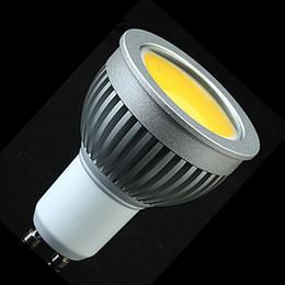 Wholesale Led E27 Lm - COB 5W GU10 Led Spot Light Bulb 500 LM Cool Warm White Led Downlight Lamp 110-240V