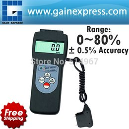 Wholesale Wall Probe - Handheld 2 in 1 Multifunctional Digital Pin & Search type Scanner and Probe Moisture Meter Wood Wall Glass 0-80% Range