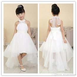 High Low Wedding Dresses Halter Bulk Prices | Affordable High Low ...