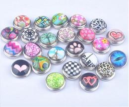 ganchos de botão antigo Desconto Mistura de cor Venda Snaps Botão de Jóias Para DIY Pulseira Colar Encantos Snaps Encantos Mais novo venda quente frete grátis noosa snap botão encantos