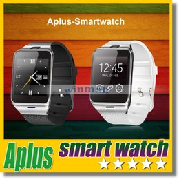 Wholesale Gear Watch Phone - GV18 Aplus Smart Watch Phone with Camera NFC Unlocked Micro SIM card Slot Quad Band Bluetooth Gear 2 For Andriod Phone SAMSUNG