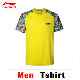Wholesale Shirt Table - Wholesale-2015 China Table Tennis Super League Shirts Li-Ning Professionals Table Tennis Shirts PingPong Sport Shirts AAYK317 AAYK266