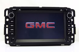 Wholesale Gmc Car Navigation - Car DVD Player GPS Navigation for GMC Yukon Tahoe Acadia with Radio Bluetooth TV USB SD AUX Map Auto Audio Video Navigator
