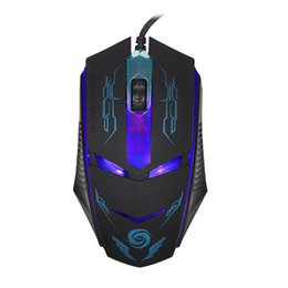 Wholesale laptops best prices - Wholesale- Best Price 3200 DPI LED Optical USB Wired Gaming Mouse Mice For PC Laptop