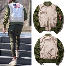 Wholesale Military Jacket Women Fashion - Jackets 2018 Men Women 1:A1 Warm Alpha Military Bomber Jacket Flight Air Force Pilot Coat Alpha Industries MA-1 Jacket
