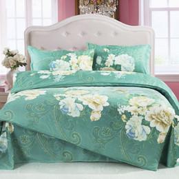 Wholesale Home Classics Duvet Cover - hot selling classic 4pcs cotton stripe bedding set duvet cover set bed linen bed sheet set