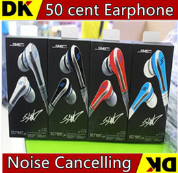 Wholesale Dhl Sms Street - DHL newest SMS MC 13 mini 50 Cent Earphones Audio Street by 50 Cent Headphone In-Ear Headphones Factory Price for Mp3 Mp4 Cell phone tablet