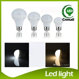 Wholesale Globe E14 5w - LED Bulbs Light E27 Globe Bulbs E14 Led Bulb Light Energy Saving LED Bulb Light Lamp 3W 5W 7W 9W 12W 15W 20W 30W 40W AC 220V LED Light