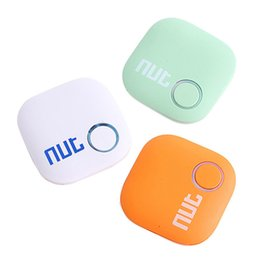 Wholesale Smart Vehicles Key - 2017 Original Nut 2 Bluetooth Key Finder Smart Tracker Nut2 Smart iTag Wireless Llavero Anti Perdida Locator Lage Tracker