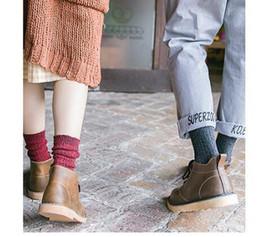 Wholesale Trend Shoes Wholesale - women men ladies girls boys Harajuku folk style socks knitting wool socks shoes fashion trend socks