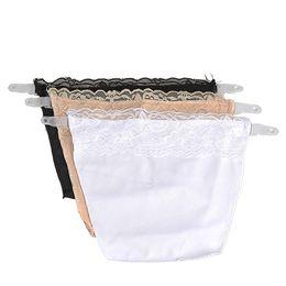Wholesale Wholesale Lace Camisole Set - Wholesale-OCEA 3pcs Clip on Camisoles Sexy Lace Set Panels Cleavage Control