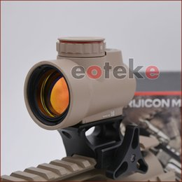 Wholesale rifle scopes optics - NEW Trijicon MRO Style Holographic Red Dot Sight Optic Scope Tactical Gear With 20mm Scope Mount 3 types of selectable