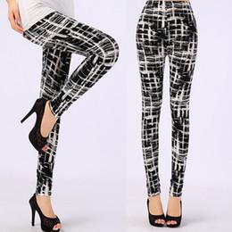 leggings meilleure couleur Promotion Jambières de lait noires avec pantalon souple en microfibre imprimée, plus la taille pour 2015 New Leggins