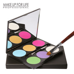 Wholesale Raw Materials - Professional Eye Shadow Using Natural Mineral Raw Materials Easy To Color Dry Can Make The Eye Liner Does Not Open