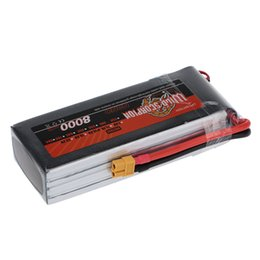Wholesale Rc 4s Lipo - Brand Wild Scorpion 8000mAh 30C LiPo Battery 14.8V 4S with XT60 Plug for RC Car Airplane Helicopter Boat