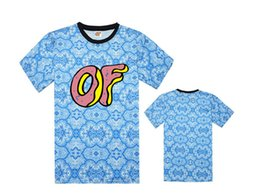 Wholesale Cotton Shorts Online - free shipping Online Stock Odd Future Shirt Wolf Gang T-Shirt The Creator Drawing Top Tees For Men