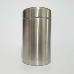Wholesale Stainless Steel Food Container Wholesale - New 500ml Thermo Food jar Stainless Steel Cup Tumbler Vacuum insulated Double Wall 17oz Thermo food Container Thermal Cooker