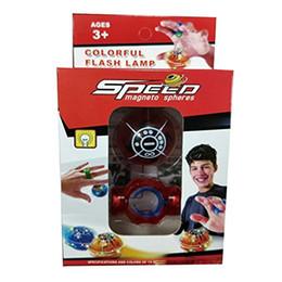 Esferas imán online-Esferas esféricas Bola luminosa Bolas magnéticas Juguetes para los dedos Dedo anti estrés Navidad y año nuevo Limo Juguetes para niños para niños