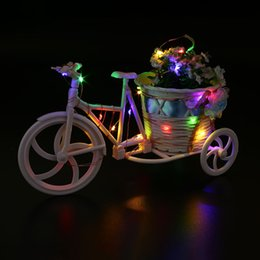 Wholesale Bend Homes - Wholesale- 2M 20 LED Copper Wire Silver String Bend Light Home Patio Decor Colorful Bright