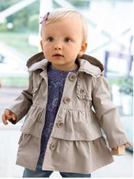 Wholesale Dresses Wholsale - Wholesale-2016 baby girl autumn jackets fashion girl princess Children's Princess long coatkids dress coat wholsale and retail BAM-2