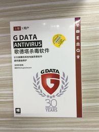 Wholesale Internet Homes - 2018 New G Data Antivirus Computer Software Windows PC 1 Device 3 Years Internet Security 1 Device 3 Years