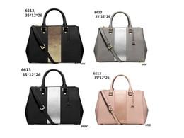 Wholesale Cream Ostrich Feathers - 2017M New Famous Brand Women Bags PU Leather Handbags Famous Designer Brand Bags Purse Shoulder Tote Bag Wallet M6613