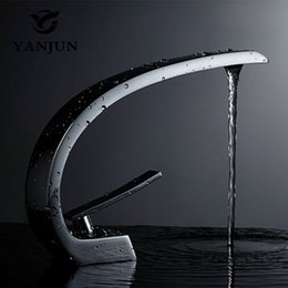 UK Yanjun Countertop Swivel Spout Brass White Painting Bathroom Faucet Vanity Vessel Sinks Mixer Cold And Hot Water Tap DHgate Mobile