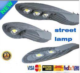 Wholesale Fast Industrial - X1PCS fast ship street lights 50W 100W 150W AC 85-265V IP65 led streetlight LED Road Lamp Waterproof CREE LED Chip