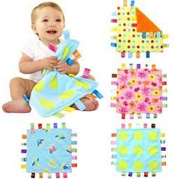 Wholesale Infant Swaddling - 30*30cm Emotion Pacify Blanket Cartoon Colorful Baby Towel Swaddle Wrap Blanket Blankets Towelling Baby Baby Infant Blanket