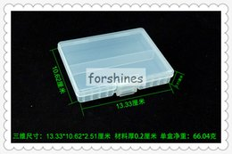 Wholesale hard plastic containers - 5pcs,free shipping to USA,48 pcs AAA batteries storage case,48*AAA battery boxes,Rack Transparent Hard Plastic Battery Case Holder container