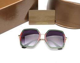 Wholesale Polyurethane Quality - Hot sale 0106 bee design brand women sunglasses oversized frame fashion sun glasses female good quality driving eyeglasses with logo and box