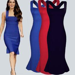 Wholesale Midi Dresses Online - online wholesale womens girls dresses clothing women Dress 017 dresses for girls red spaghetti strap Sleeveless Ruffle party dresses cheap