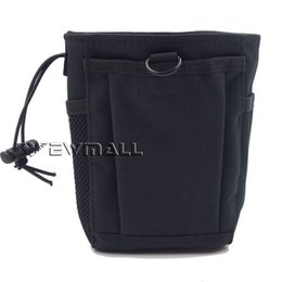 Wholesale Paddle Car - Tactical molle pouch Folding Ammo Magazine Dump Pouch Drop Down Mag Utility Bag Small size for hiking camping outfdoor sprots