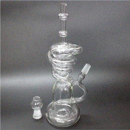 stacking bong Promo Codes - New glass bong Hitman Glass Sundae stacks Glass oil rigs water pipes thick and sturdy glass with 14.5mm male joint
