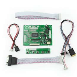 Wholesale Lvds Tft Lcd Controller - VGA 2AV 50PIN TTL DS Driver Controller Board Module Monitor Kit for Raspberry PI 2 TFT LCD Display Panel DIY Monitor free shipping