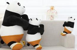 Argentina Aberdeen chino kung fu panda Un Baogong muñecas de peluche súper muñeca de cumpleaños regalo de Año Nuevo para los niños Suministro