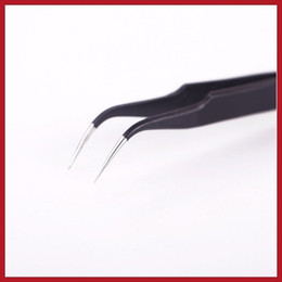 Wholesale Eyelash Extension Tweezer Curve - newest price cleverdeal Professional Curve Eyelash Extension Application Tool Tweezer High Qualit for yourself