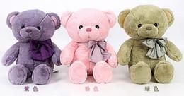 Wholesale 19 Teddy Bear - 19'' 50cm mini teddy bear Plush Toys Lovely teddy bears Stuffed Animals doll Christmas Valentine's Day gift